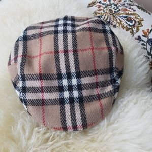 BURBERRY NEWSBOY NOVA CHECK HAT